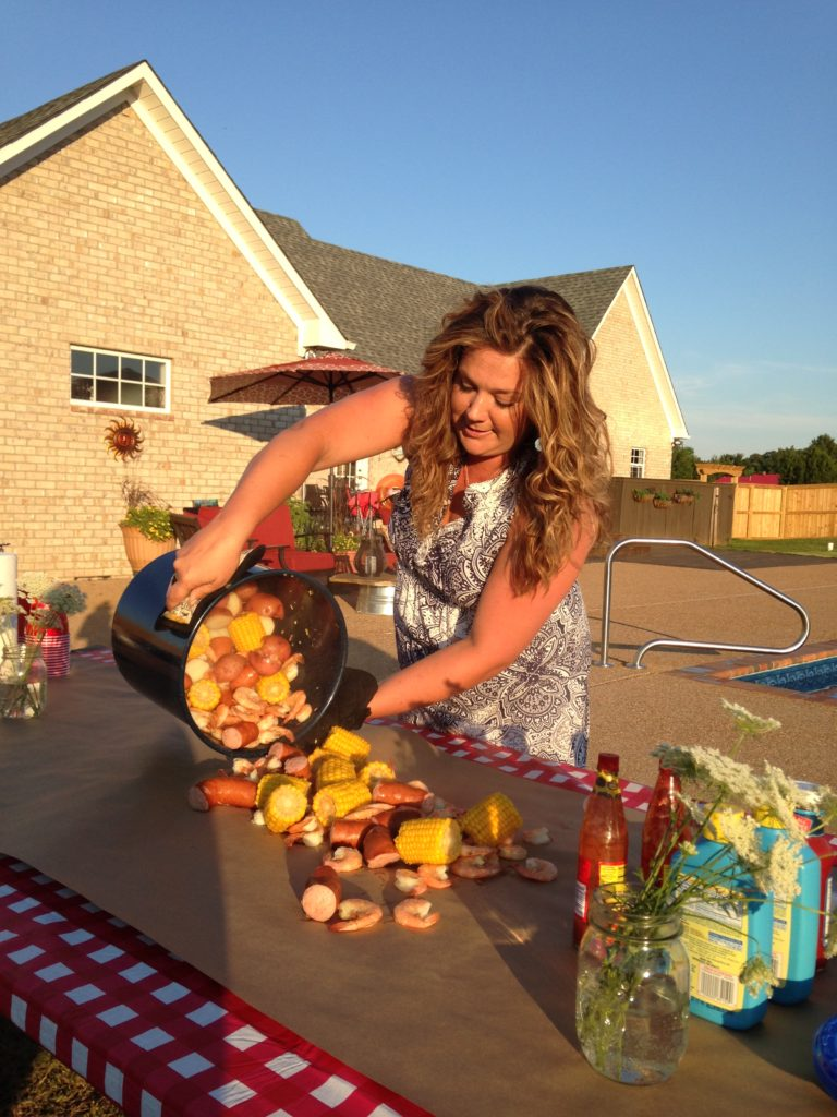 Nothing Says Outdoor Get-Together Like A Low Country Boil