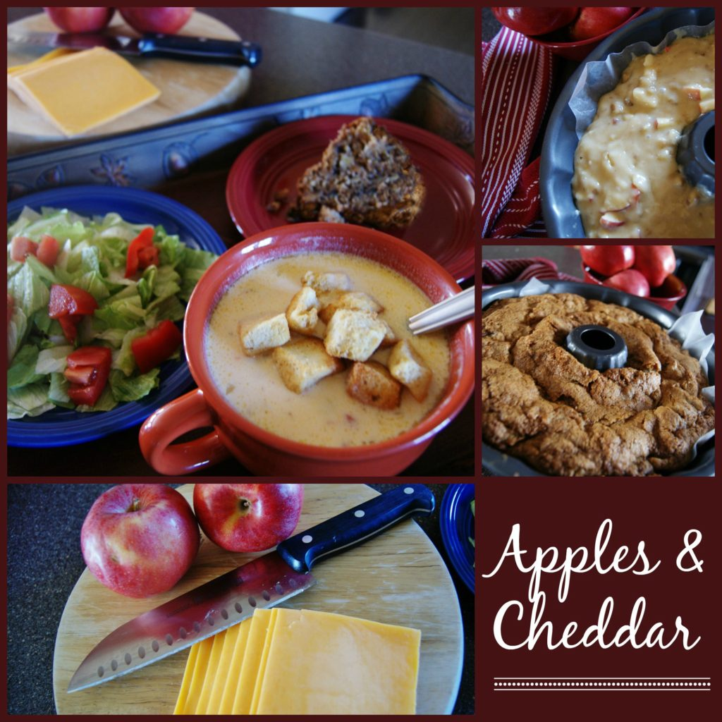Pawpaws, Cheddar Cheese Soup, & Fresh Apple Cake