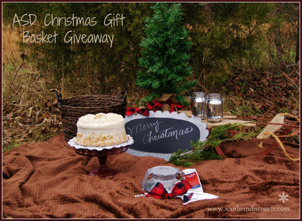 Christmas Gift Basket Giveaway!