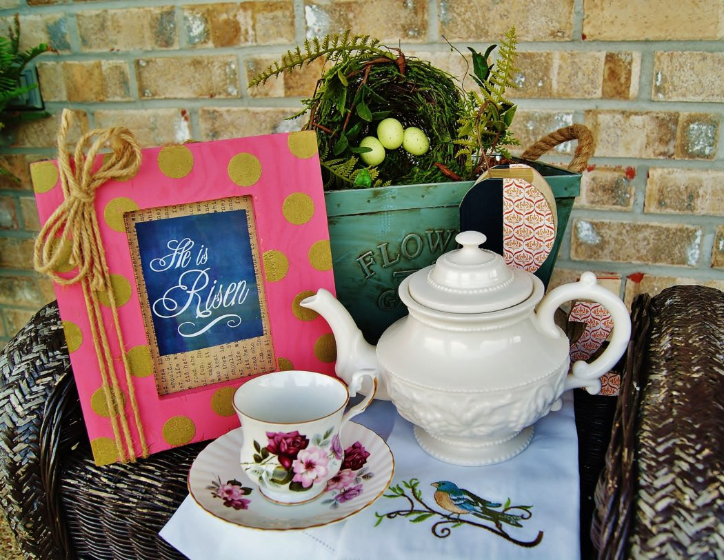 Spring Birds & Tea Gift Basket Giveaway!