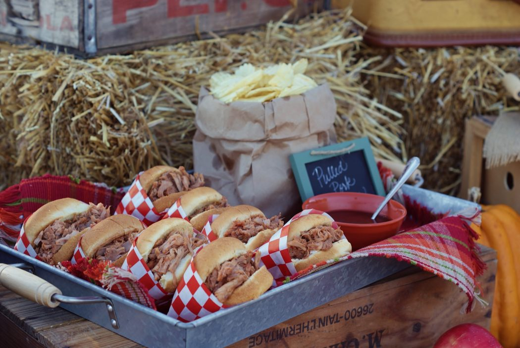 tailgate with BBQ sliders