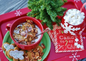 Gingerbread Baked Oatmeal