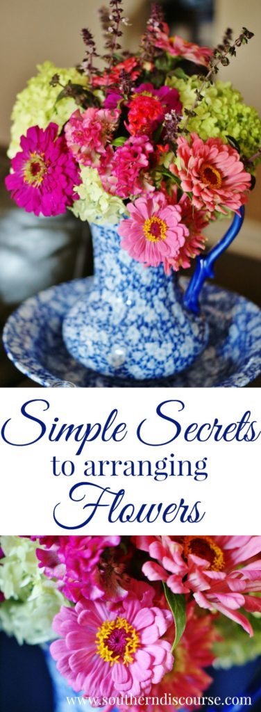 Feeling less than thrilled after putting those supermarket flowers in a vase? 3 simple tips to arranging flowers like a pro.