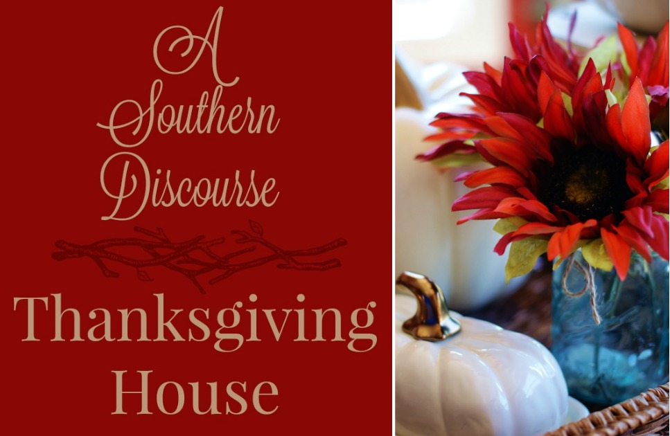 Thanksgiving House: Fall Mantle