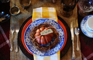 Tips for creating a fabulous and functional Thanksgiving table.