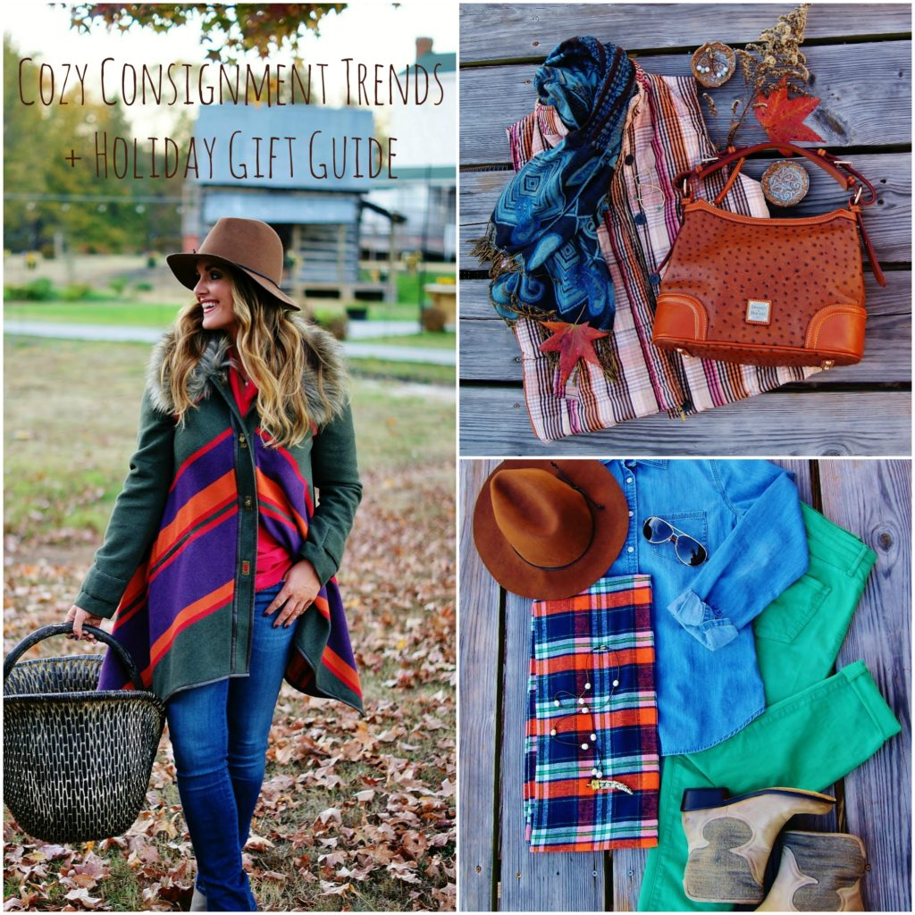 Cozy Consignment Trends + Holiday Gift Guide