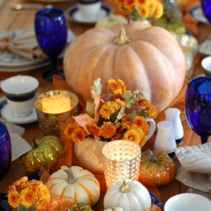 The Ruffled Mango's Thanksgiving Tablescape