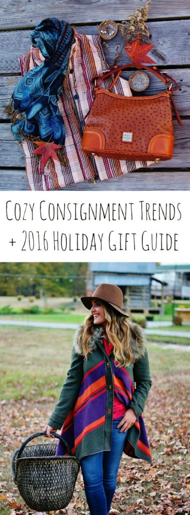 Cozy Consignment Trends + 2016 Holiday Gift Guide