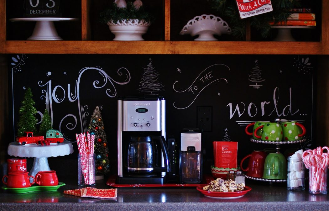 Christmas Hot Chocolate Bar