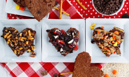 Last Minute Valentine's Day Brownies & Toppings