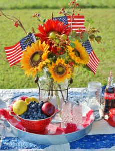 Farm Style Summer Family Picnic for the 4th- southerndiscourse.com