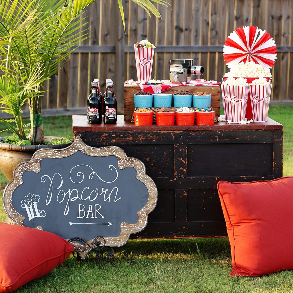 No-Fuss, All-Fun Popcorn Bar