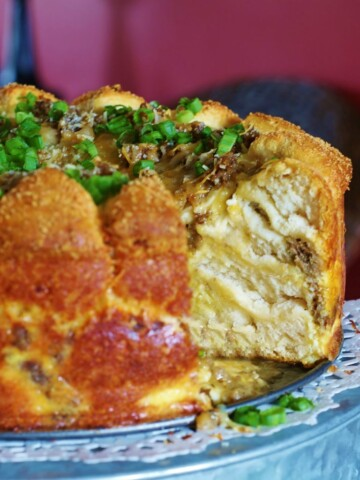 Sausage Egg Cheese Brunch Cake