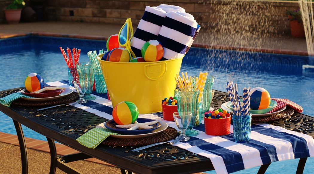 A Pool Party for Summer's Last Big Bash