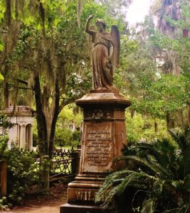 Bonaventure Cemetery is a must when visiting Savannah, GA.