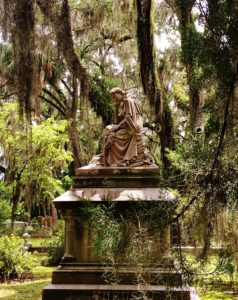 If you visit Savannah, GA, historic Bonavaenture Cemetery is a must!