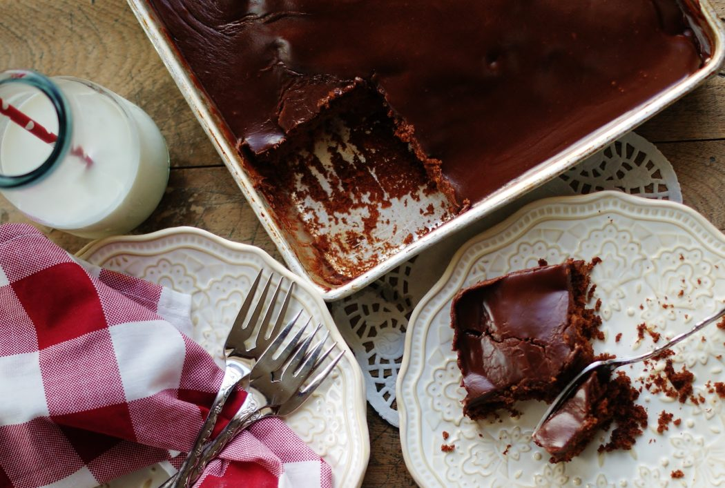 Chocolate Buttermilk Sheet Cake