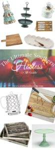 12 fabulous Christmas gift ideas for that southern hostess in your life.   A Christmas gift guide to warm your home.