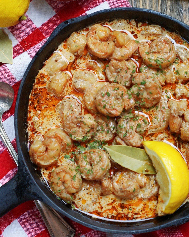 How to serve BBQ Shrimp