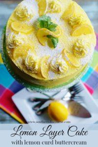 #lemon #layercaker #buttercream #lemoncurd #lemoncake #southerndiscourse