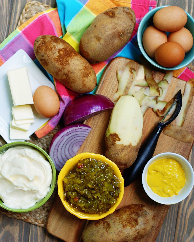 The ingredient to make Deviled Egg Potato Salad