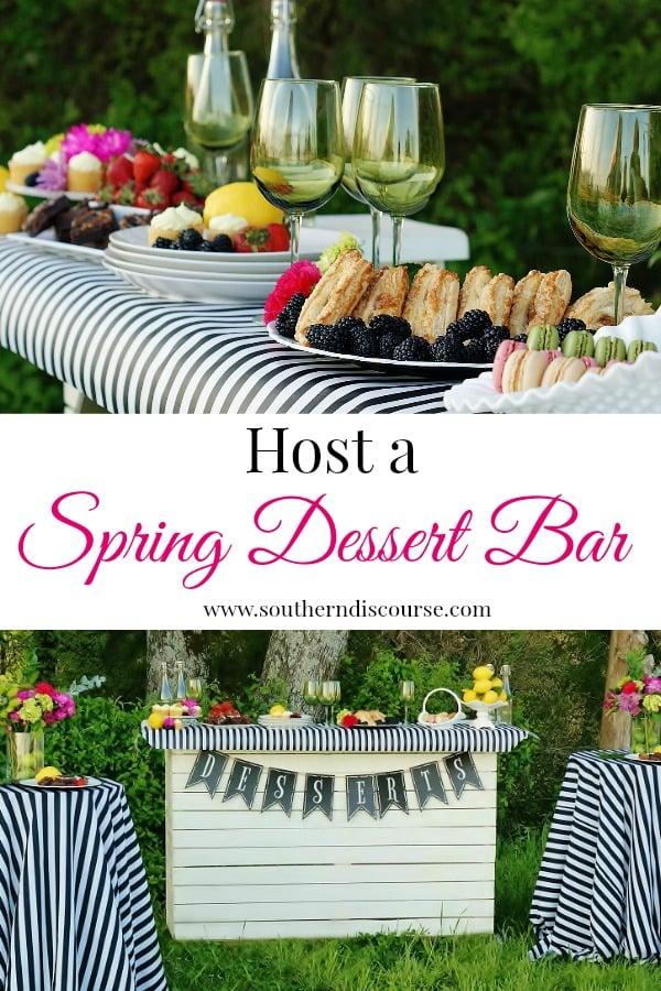 الحلويات اللذيذة ، خطوط كيت سبيد ، ألوان الربيع الزاهية - شريط الحلوى هذا الربيعي هو مجرد نوع من الحفلات التي تتيح لك القيام بأفضل ما تفعله ، والتركيز على ضيوفك.