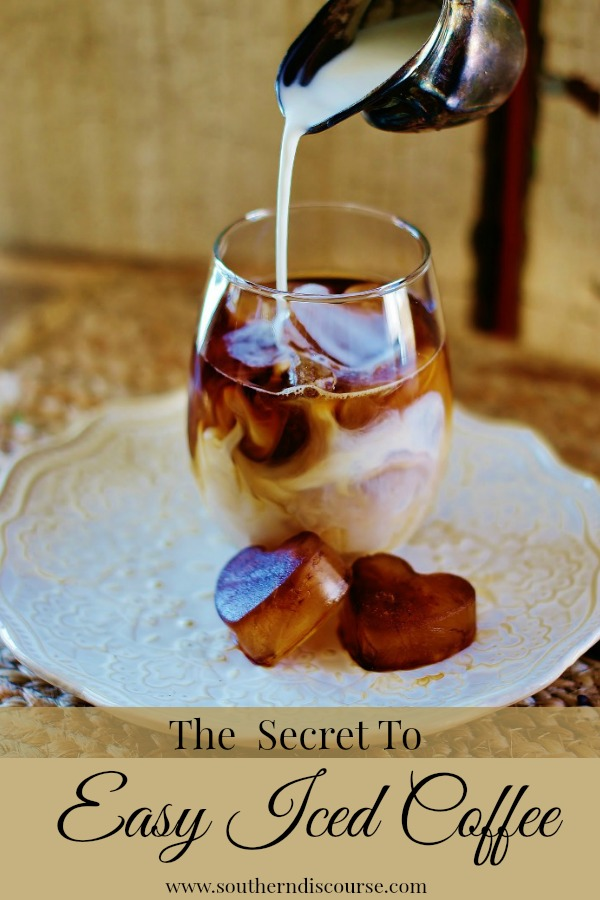 This one easy tip eliminates watered down iced coffee so that you can enjoy your favorite drink all summer long.