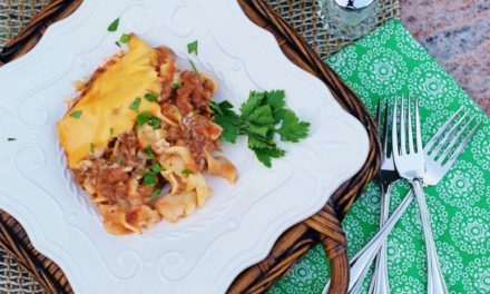 Cheesy Beef Noodle Casserole: An Easy One Dish Meal