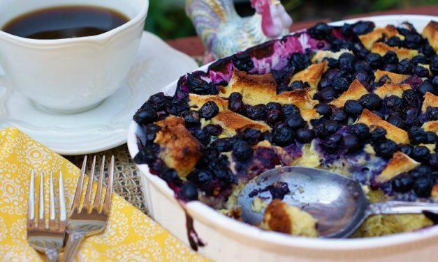 Make-Ahead Blueberry Breakfast Bake