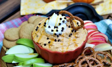 Pumpkin Butterscotch Dip