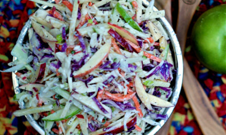 Crisp Apple Coleslaw with Homemade Buttermilk Dressing