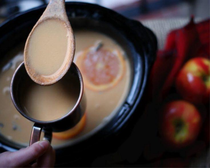 Spiced Caramel Apple Cider in Your Crock Pot