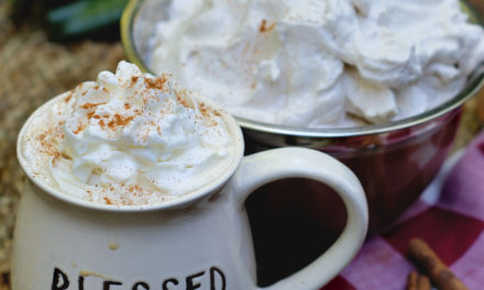 Easy Homemade Cinnamon Whipped Cream
