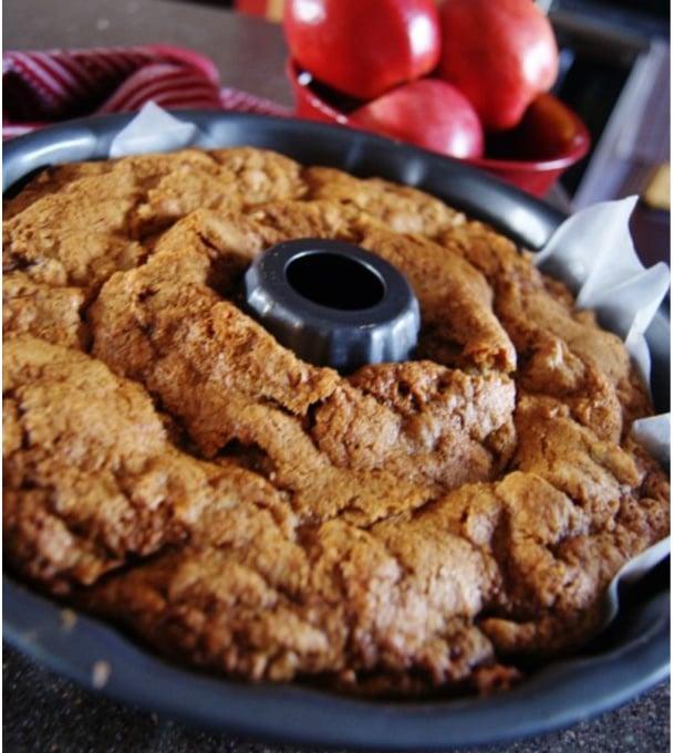 Fresh Apple Cake makes a great Thanksgiving Dessert.