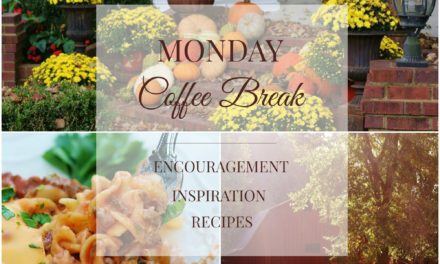 Monday Coffee Break #4