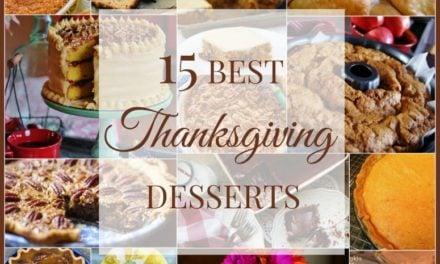 15 BEST Thanksgiving Desserts