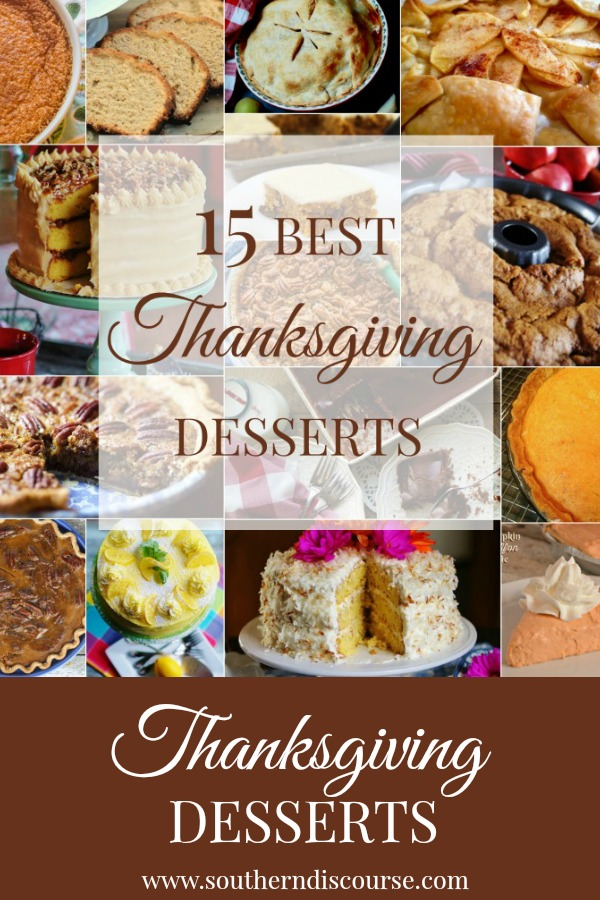 15 traditional and traditional with a twist Thanksgiving desserts! From no-bake desserts, to make-ahead recipes, to your favorite classic recipes, this collection of recipes has them all!