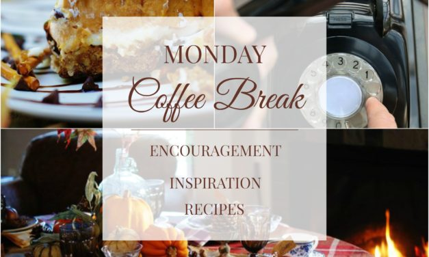 Monday Coffee Break #6