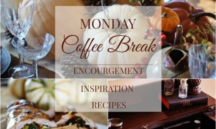 Monday Coffee Break #8