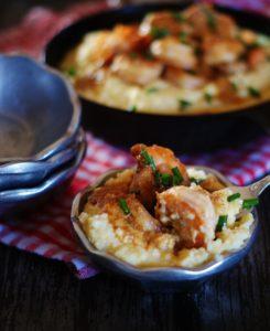 Shrimp & Grits for Brunch