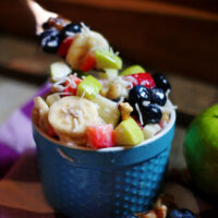 CLassic Fruit Salad with Old Fashioned Sauce