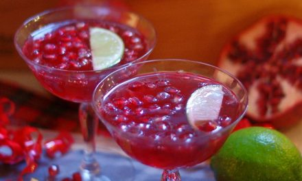 Pomegranate Lime Punch
