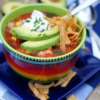 Easy Tex-Mex Soup