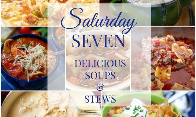 Saturday Seven- Delicious Soups & Stews