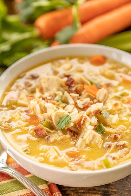 Crack Chicken & Rice Soup