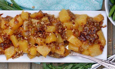 Brown Sugar Roasted Pineapples