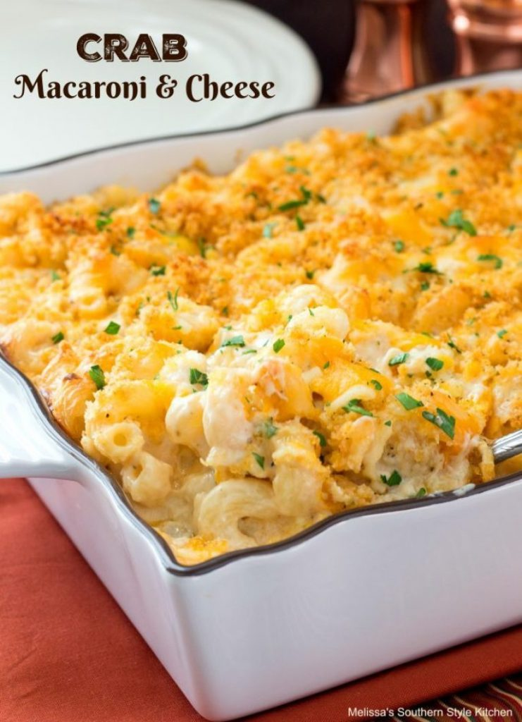 Crab Macaroni & Cheese