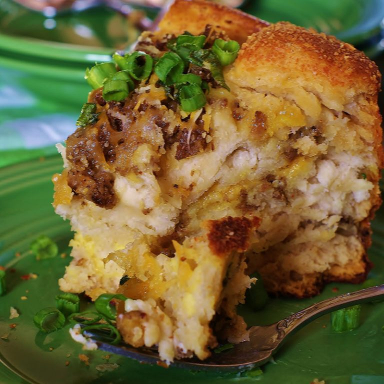Recipe feature- Sausage, Egg & Cheese Brunch Cake