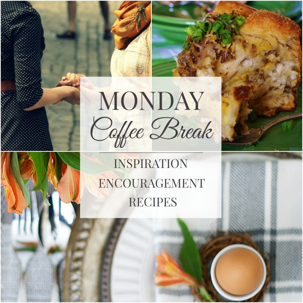 Monday Coffee Break #31 Title Picture Collage