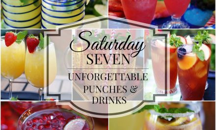 Saturday 7- Unforgettable Punches & Drinks